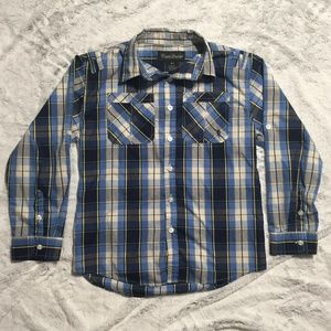 Boys English Laundry 10/12 (M) Casual Button Down